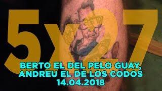 NADIE SABE NADA - (5x27): Berto el del pelo guay, Andreu el de los codos