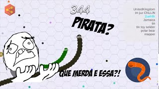 Snake.io o slither.io pirata!