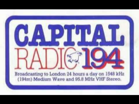 Michael Aspel and Dave Cash, Capital Radio, 1976