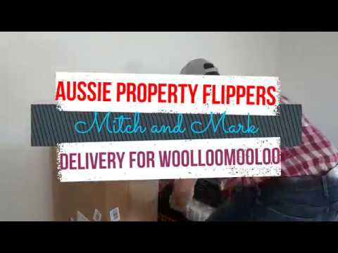Aussie Property Flippers - Mitch and Mark - Woolloomooloo Delivery taps & basins
