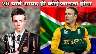 20 Facts You Didn't Know About Ab de Villiers