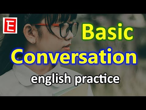 Basic English Conversation Practice | English Listening And Speaking Practice | English 4K