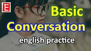 Basic English Conversation Practice | English Listening and Speaking Practice | English 4K thumbnail