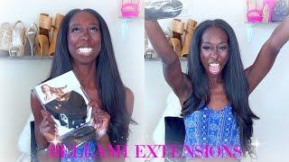 BELLAMI EXTENSIONS, African American Girl