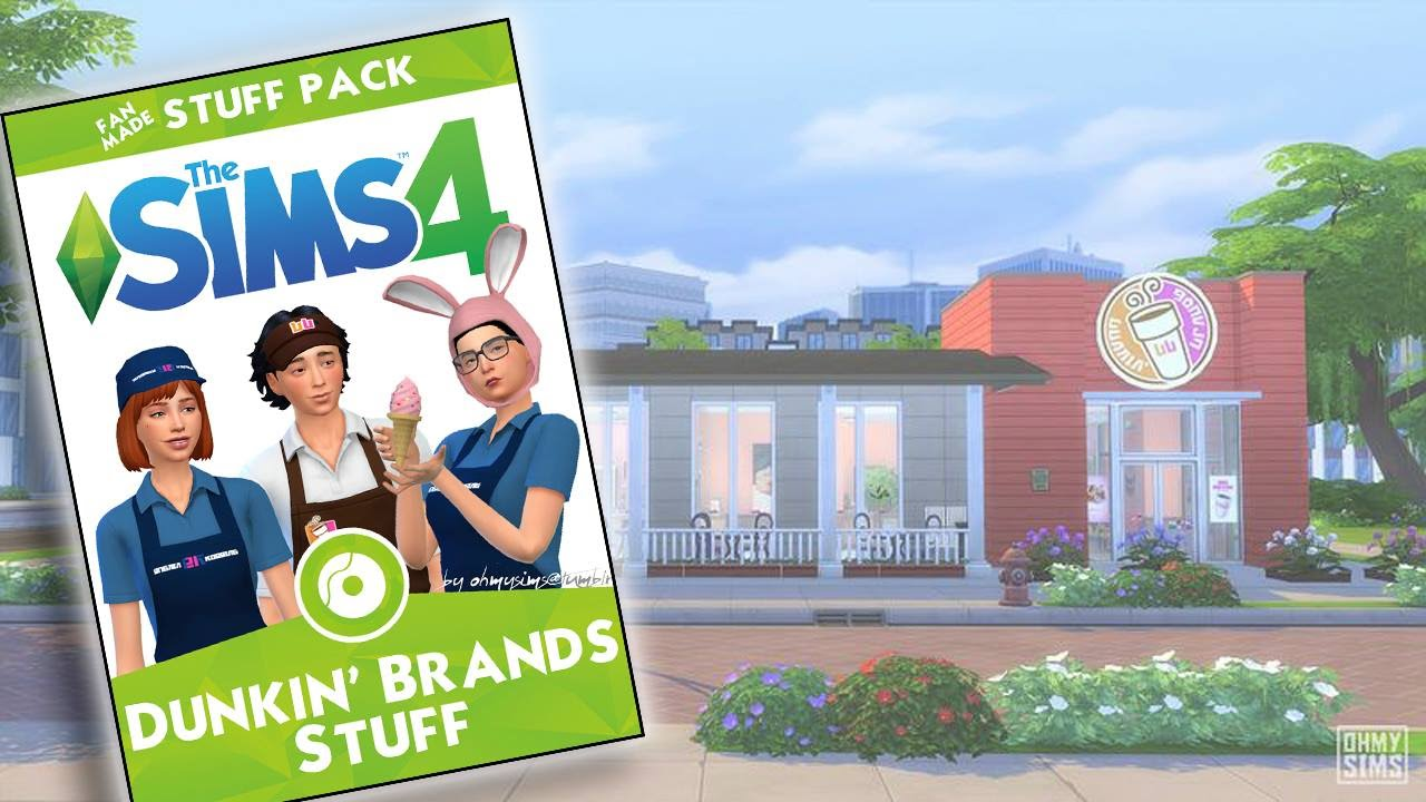 Die sims 4 gaumenfreuden release showcase restaurant gameplay pack - The Sims 4 Dunkin Brands Stuff