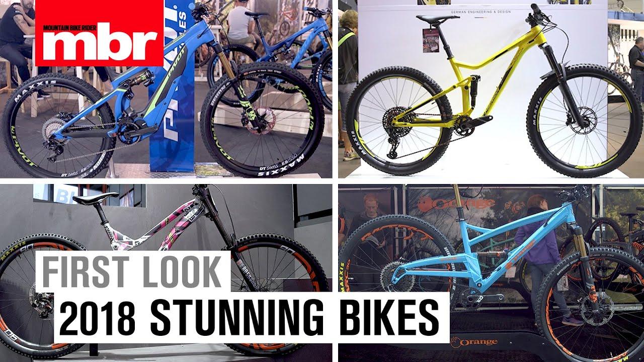 6fb4c558093 Six Stunning Bikes for 2018 | MBR. Mountain Bike Rider
