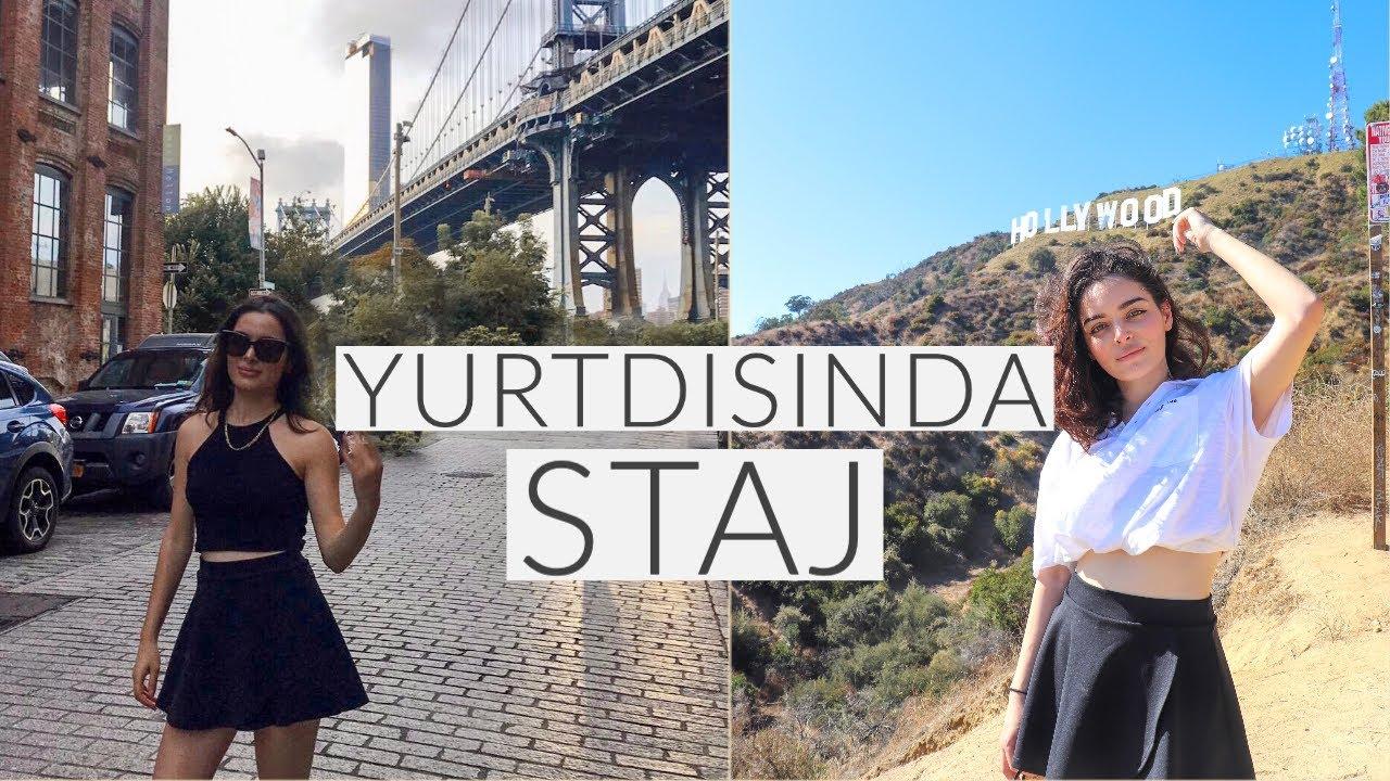 YURT DIŞINDA/AMERİKADA STAJ YAPMANIN 4 YOLU | New York Staj Tecrübem, Masraflar