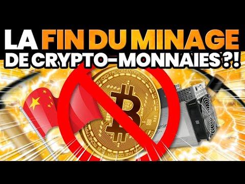 La fin du minage de crypto-monnaies ?!