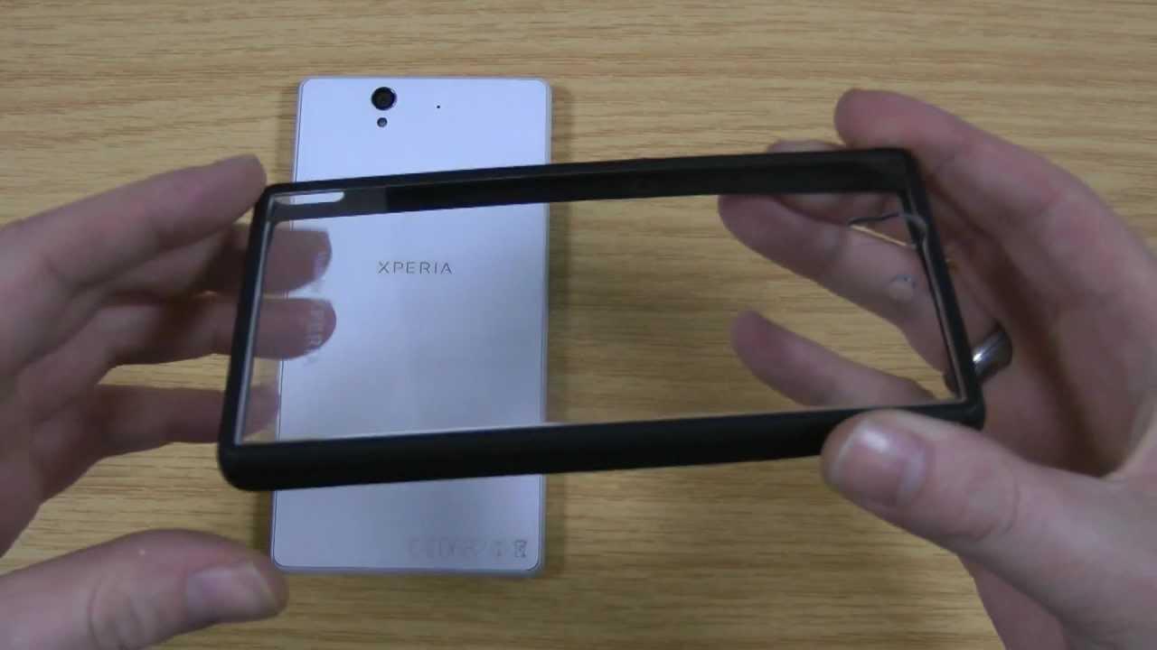 Roxfit Sony Xperia Z Bumper Gel Shell Case Review - Made ...