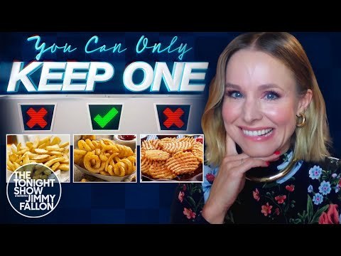 You Can Only Keep One with Kristen Bell   The Tonight Show Starring Jimmy Fallon