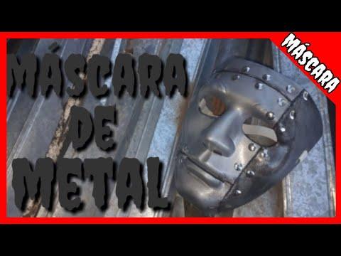 DIY - Como fazer uma máscara de metal, (metal mask)!!