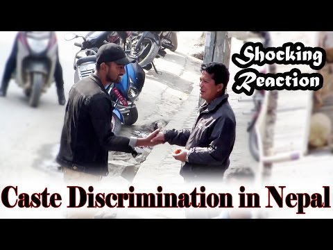 Caste Discrimination in Nepal (Shocking Reaction) // Social experiment