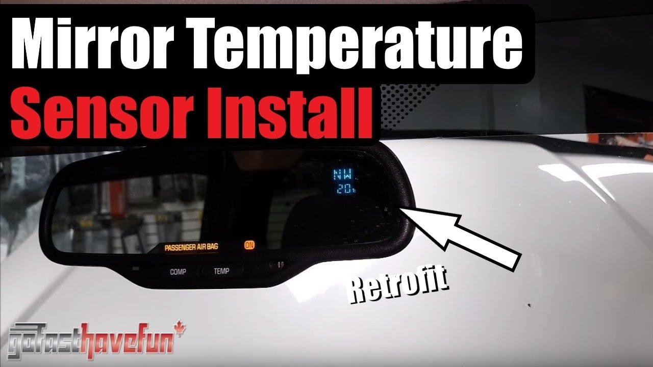 Wiring Light Sensor Diagram Gentex Mirror Temperature Sensor Install Part Number