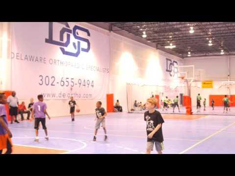 Coach B's Kids Basketball league Team MJE vs CBK Black 11U