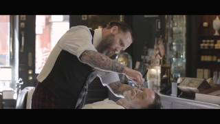 Ludlow Blunt salon deluxe hot & cold towel wet shave and Proraso