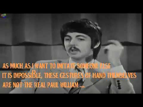 Faul McCartney First Interview 1967Paul