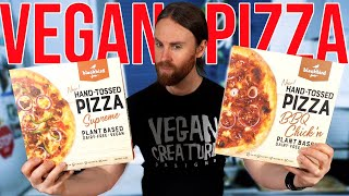 Vegan Pizza Taste Test & Review (NEW PRODUCTS)