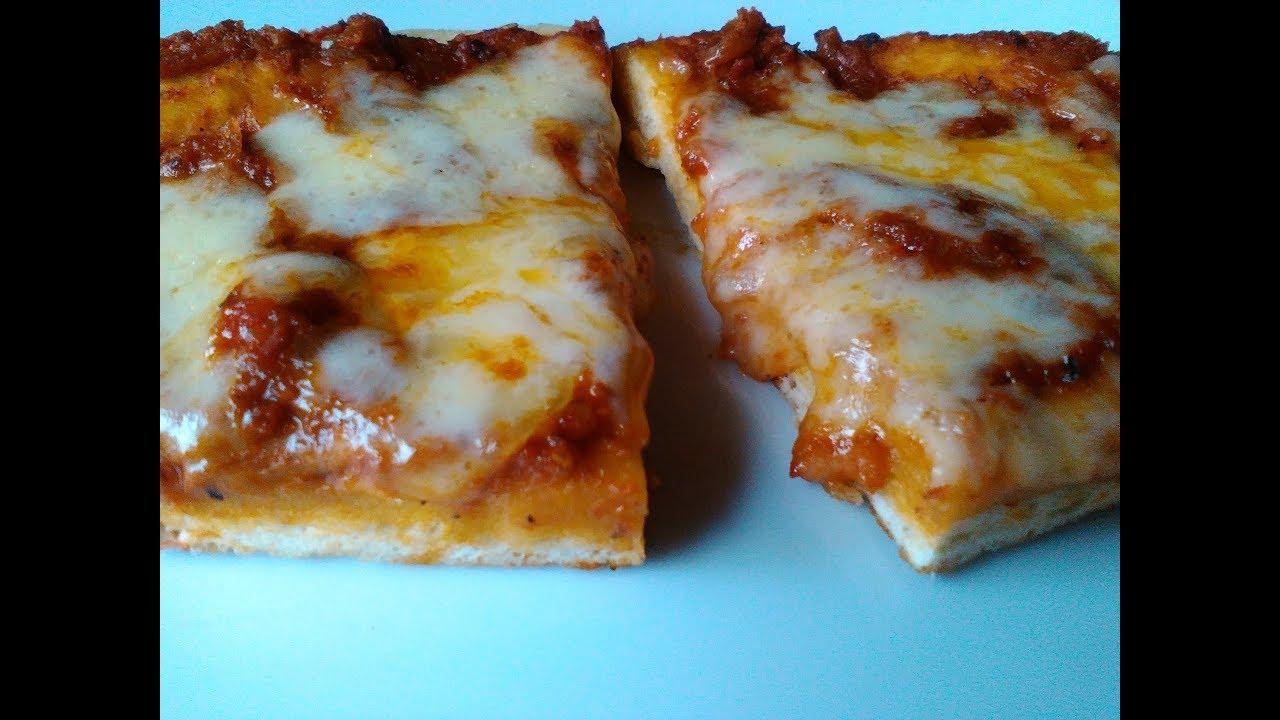 Como hacer una pizza en casa sin horno