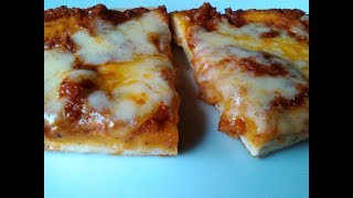 Pizza en 5 minutos sin horno (a la sartén igual o mas rica)