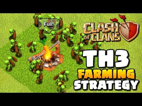 How To Mass Goblin At Town Hall 3 | How To Play Clash Of Clans Ep 6 | TH3 Farming Attack Strategy!