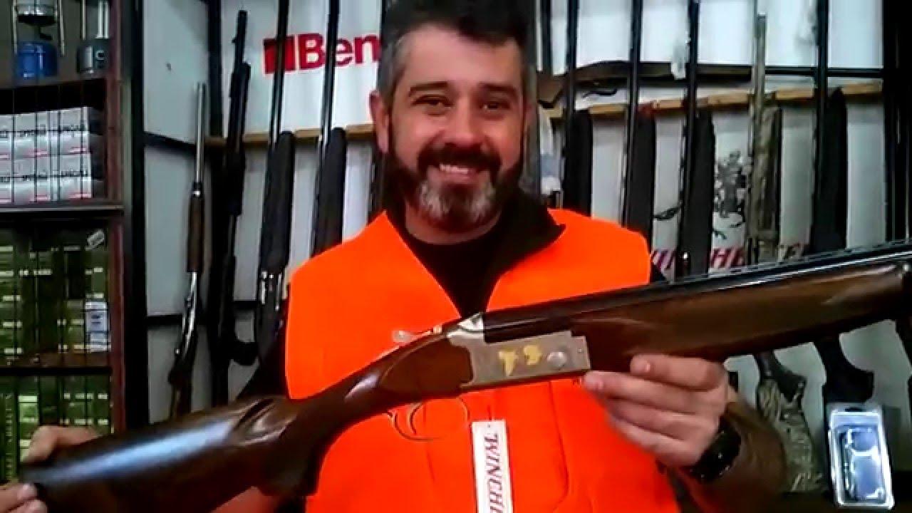 d6e855d902f winchester select light gold becasse by clear gun mastorakos - YouTube