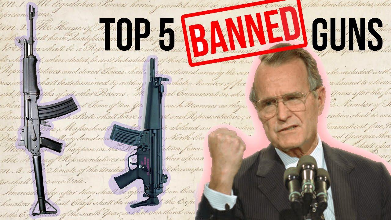 Top 5 Banned Guns Funnydog Tv