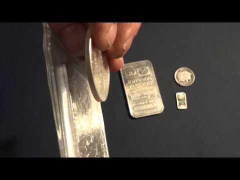1 gram 1 oz 10 oz silver bars