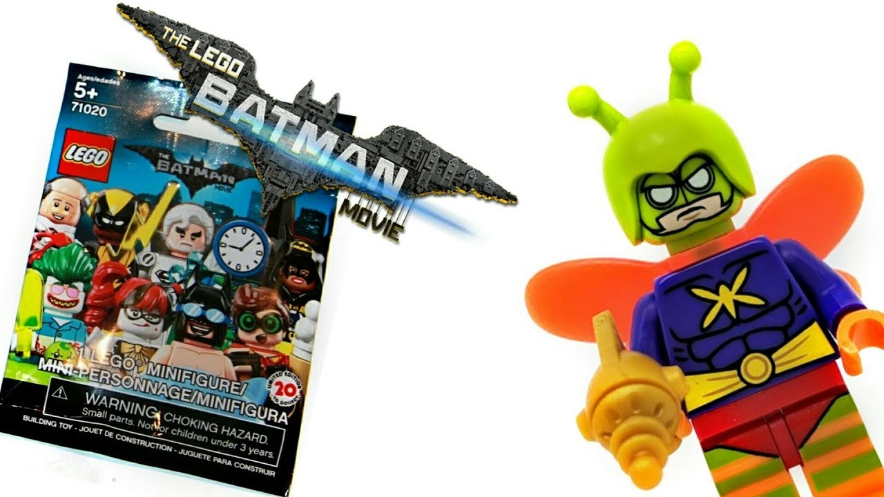 The Lego Batman Movie Series 2 Killer Moth minifigure
