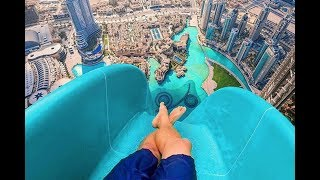 TOP 10 SCARIEST WATER SLIDES IN THE WORLD, YOU WON'T BELIEVE EXIST