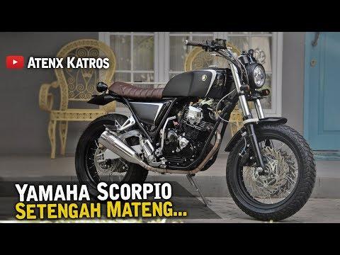 Modifikasi Yamaha Scorpio Street Tracker [Garage Vlog]