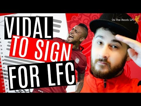 Liverpool FC News Latest   Arturo Vidal Going To Liverpool