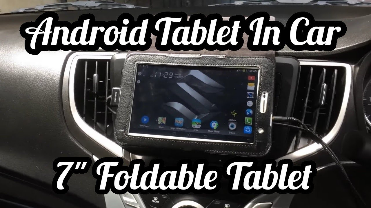 Car Tablet Install
