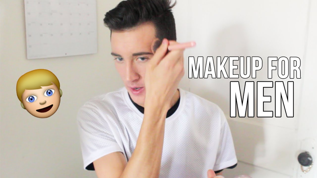 Natural Drugstore Makeup For Men Cover Acne Scars Youtube