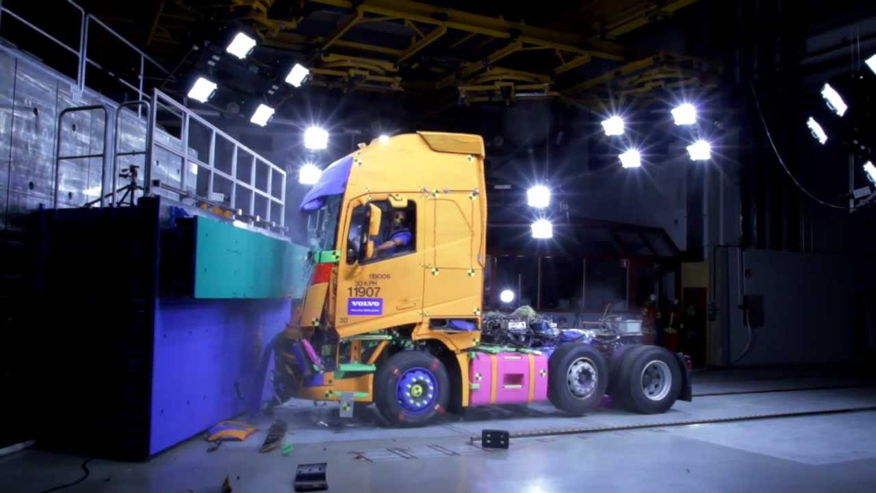 Volvo Trucks - The safest Volvo ever built (new Volvo FH) - YouTube