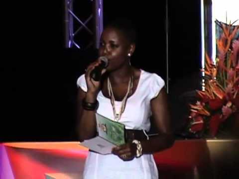 Jenny J @ Grenada National Sports Awards 2012
