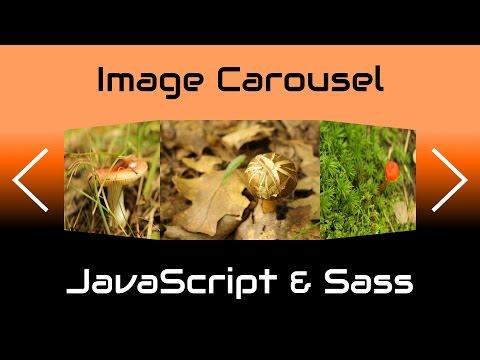 Simple IMAGE CAROUSEL/SLIDER in JavaScript & Sass