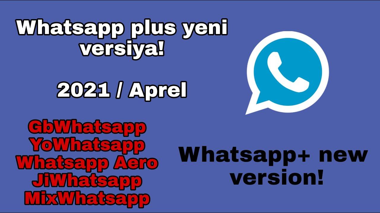 Whatsapp plus yeni versiya 2021/ Ən yaxşı Whatsapp+ linki/ Whatsapp plus new version #Bylala