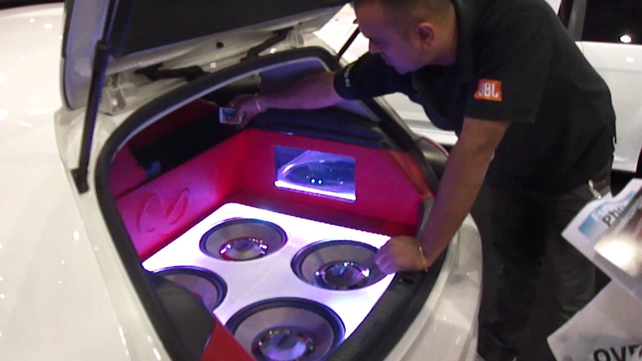 Car Sound Systems >> Amazing Car Sound System At London International Technology Expo 2011