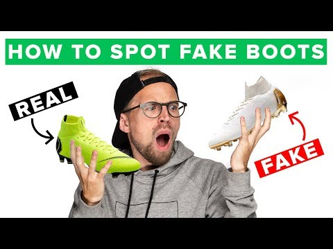 HOW TO SPOT FAKE FOOTBALL BOOTS