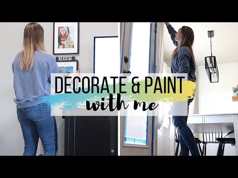 CLEAN AND DECORATE WITH ME | DIY HOME RENOVATIONS