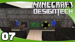 DesignTech - Ep. 7: Big Reactor Power | Minecraft Custom Modpack Let's Play