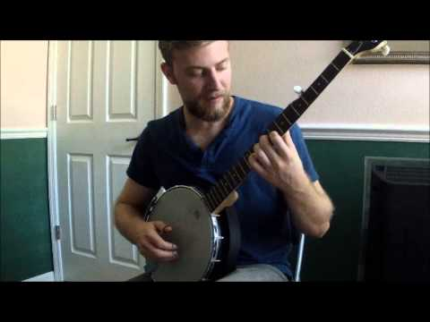 BANJO LESSON - Beginner Chord Progression Playing The Whole Neck ...