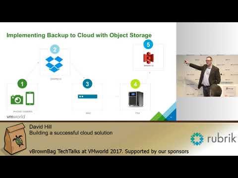 David Hill - Building a successful cloud solution