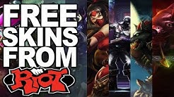 HOW TO GET FREE SKINS IN LOL (JULY 2019, NO DOWNLOAD) FREE TRISTANA, GAREN, AKALI AND ALISTAR SKINS