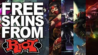 HOW TO GET FREE SKINS IN LOL (JULY 2018, NO DOWNLOAD) FREE TRISTANA, GAREN, AKALI AND ALISTAR SKINS