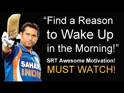 DREAMS Motivational Video – AWESOME SUCCESS ADVICE from a Cricket Legend! (Sachin Tendulkar)