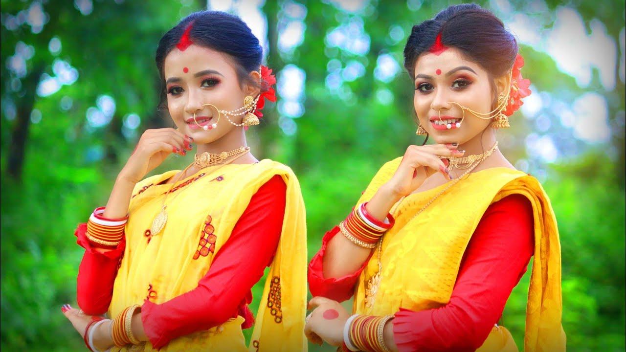 Lila Bali Dance cover লিলাবালি  নাচ    Sanchayita & Barnali Dance    Folk Creation
