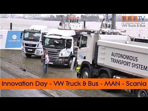 Innovation Day von Volkswagen Truck & Bus - MAN Scania und Co.