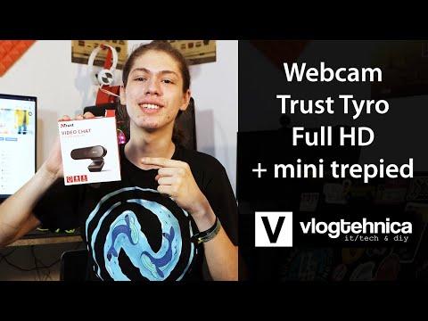 Review camera web: Trust Tyro - FullHD cu Autofocus