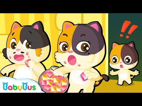 Johny Johny Yes Papa (Baby Kitten) | Candy Song for Kids | Picture Book Cartoon | BabyBus